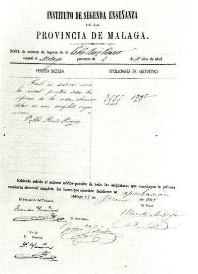 CAP. Málaga falso examen